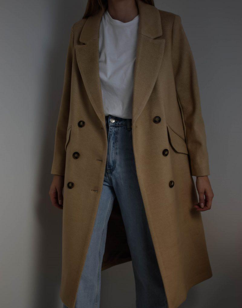 h&m camel coat, nude coat, beige coat, oversize coat, h&m haul, hm haul, clothing haul