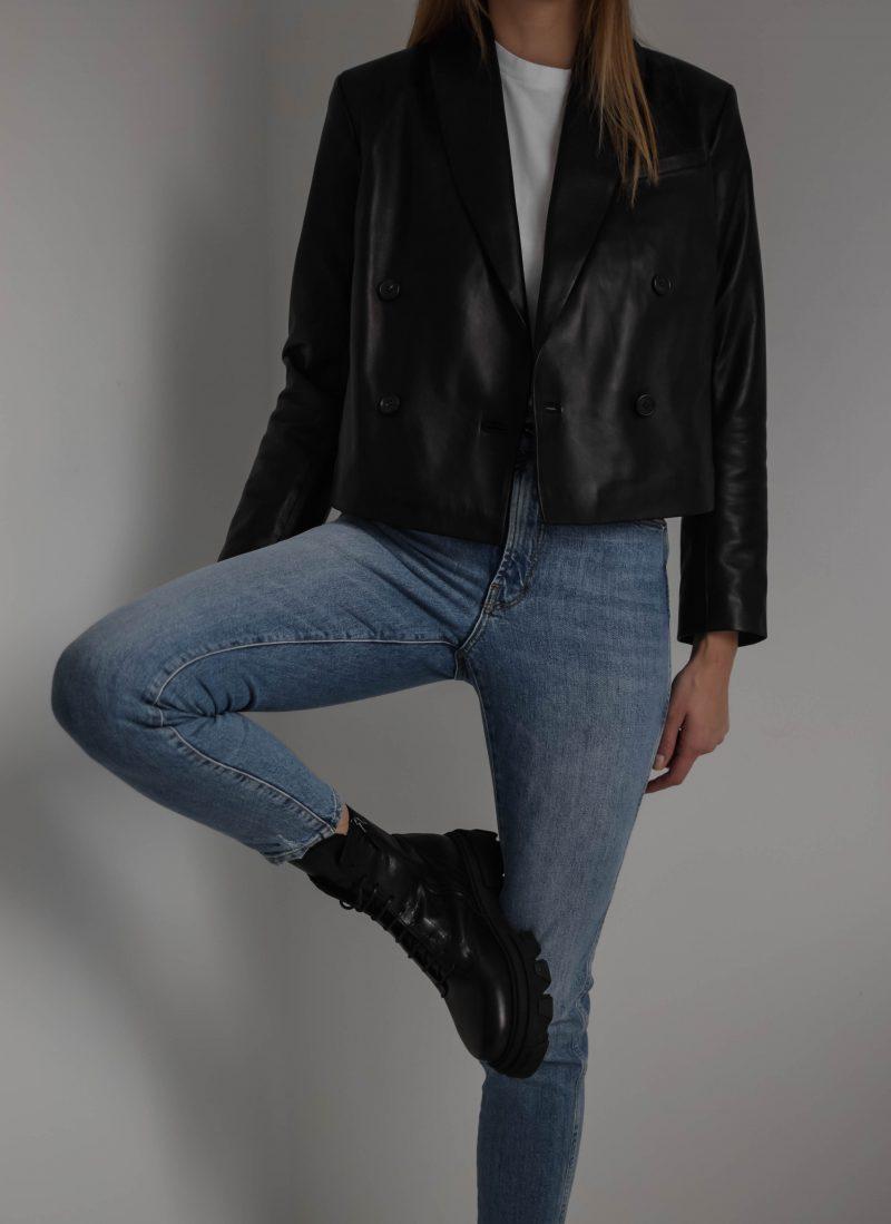 anine bing mae blazer, vamsko freja boots, shoe trends 2021