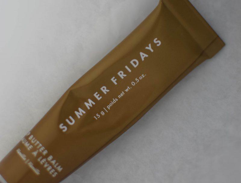summer fridays lip butter balm review, consistency