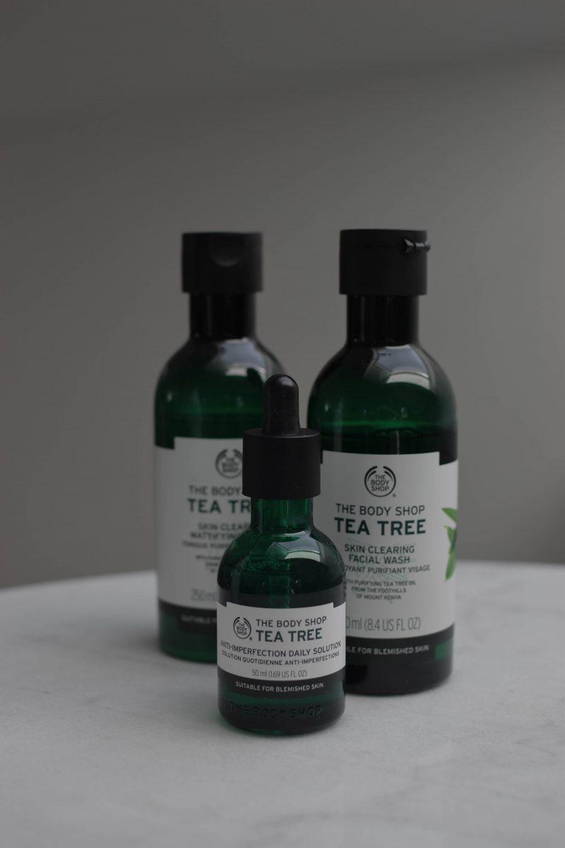 the body shop tea tree review, ocena
