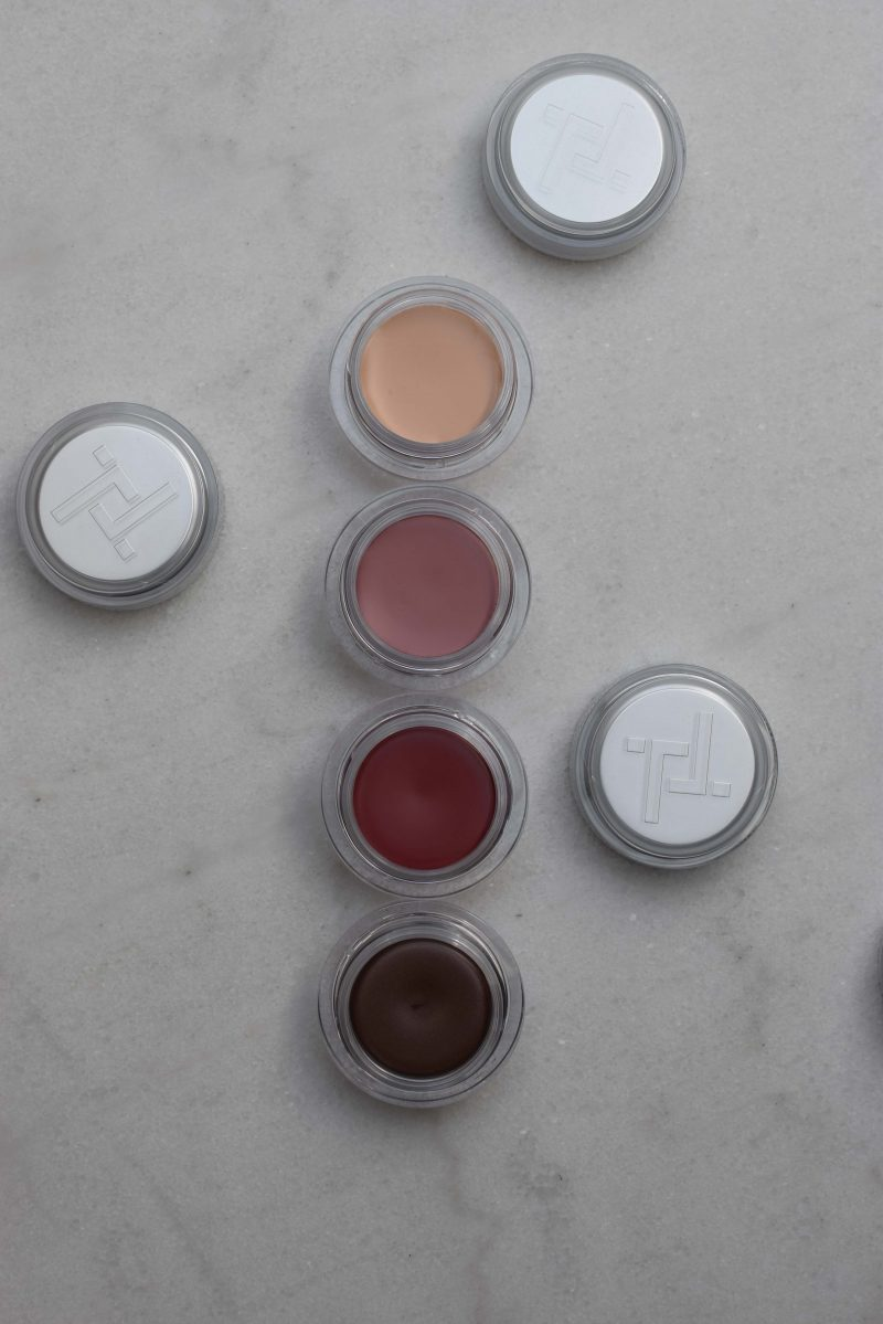 trinny london cream makeup, eye2eye, cream eyeshadow, cream blush, just a touch concealer, freddie lip2 cheek blush, katrin cream blush